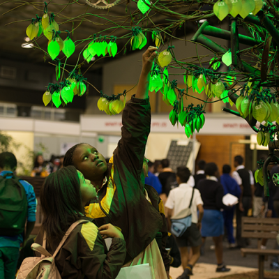 Durban ICC, Durban, Go Durban, Believe Tree, students