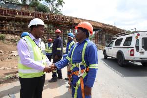 Construction visit
