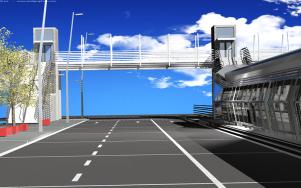3D Station Renders