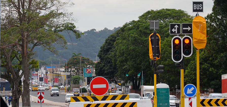 New Traffic Signalling in Pinetown