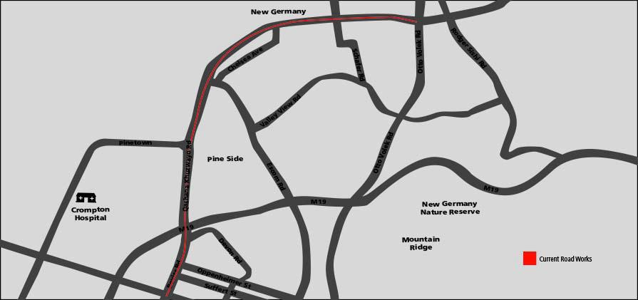Qashana Khuzwayo road to Dinkelman / Otto Volek road