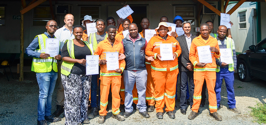 nanda Joint Venture and GO!Durban awarded site workers