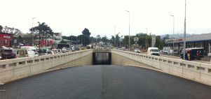 Construction of GO!Durban dedicated bus lane on first route nears completion