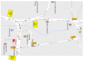 Temporary Deviation on Crompton/Qashana Khuzwayo (Shepstone) Roads intersection